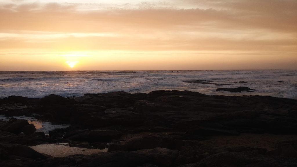 Photographe, apprendre à lâcher prise. Couher de soleil sur la mer aux Sables d'Olonne.