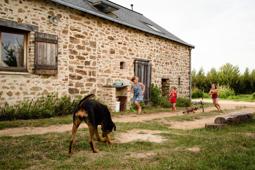 Reportage du quotidien en Mayenne.