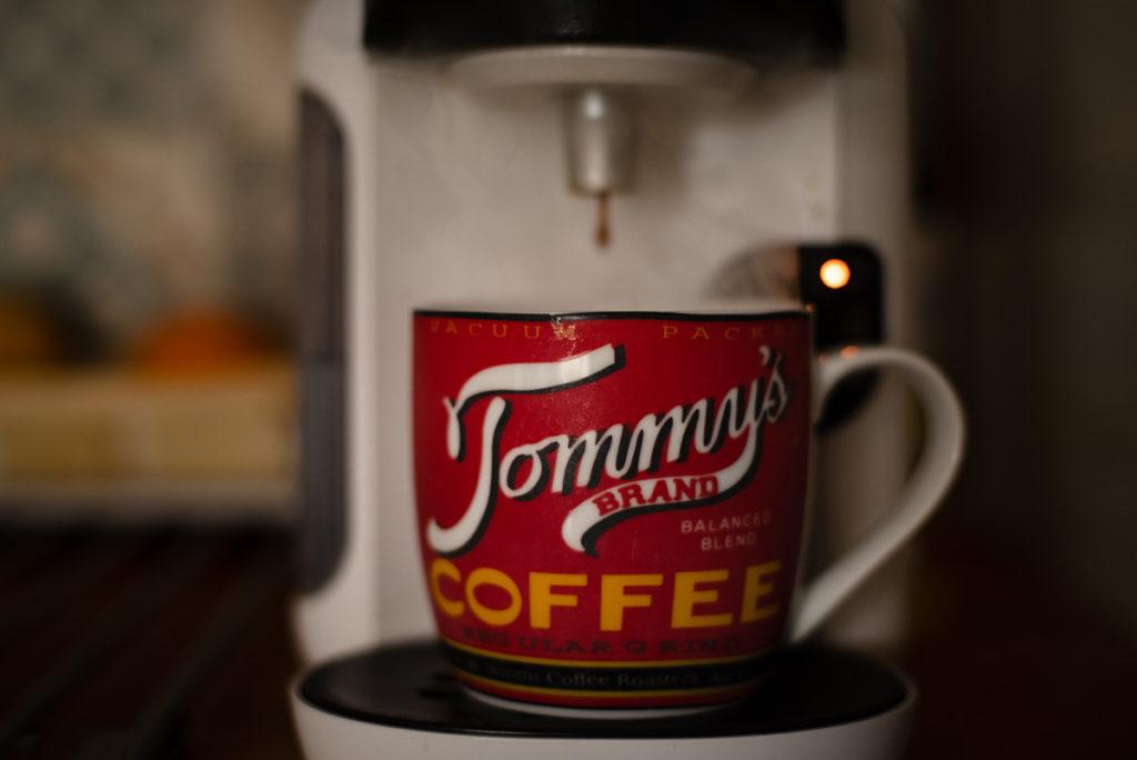 Documenter le quotidien pendant le confinement. L'heure du café.