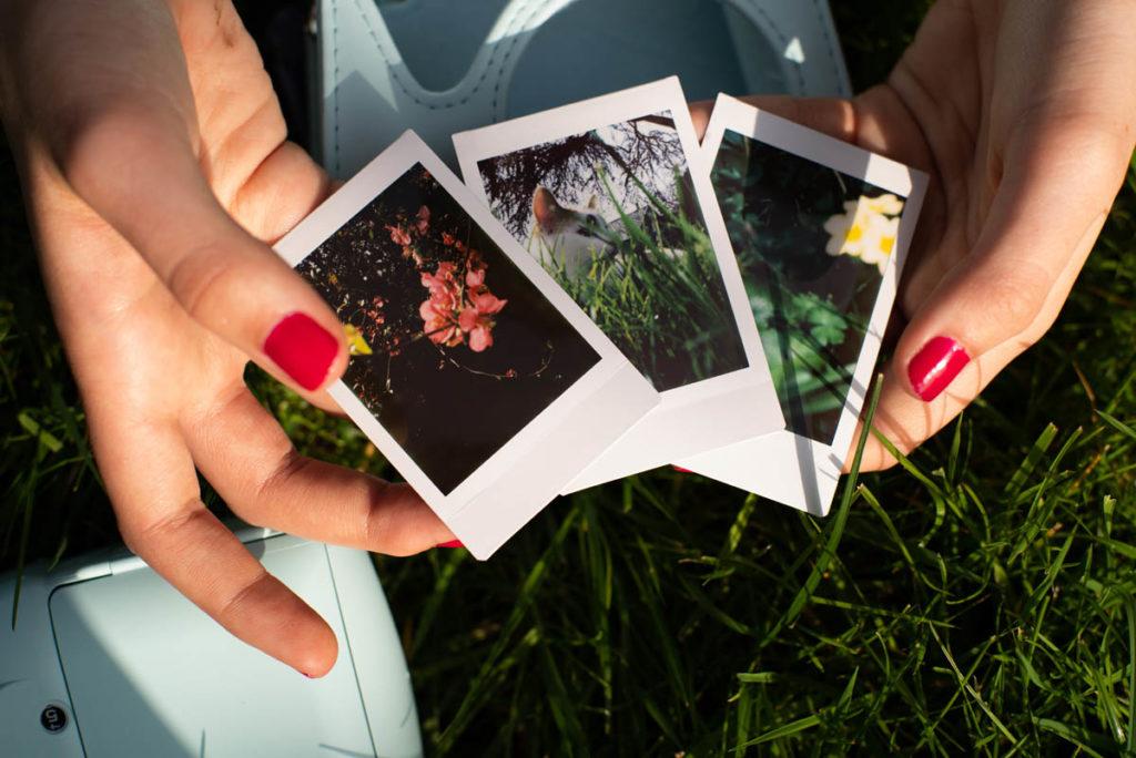 Documenter le quotidien pendant le confinement. Photos instax mini