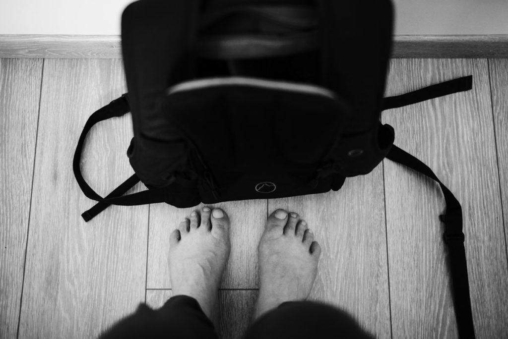 Défi photo le 24 du mois. Photographier son quotidien sur une journée entière. Photographie en noir et blanc.