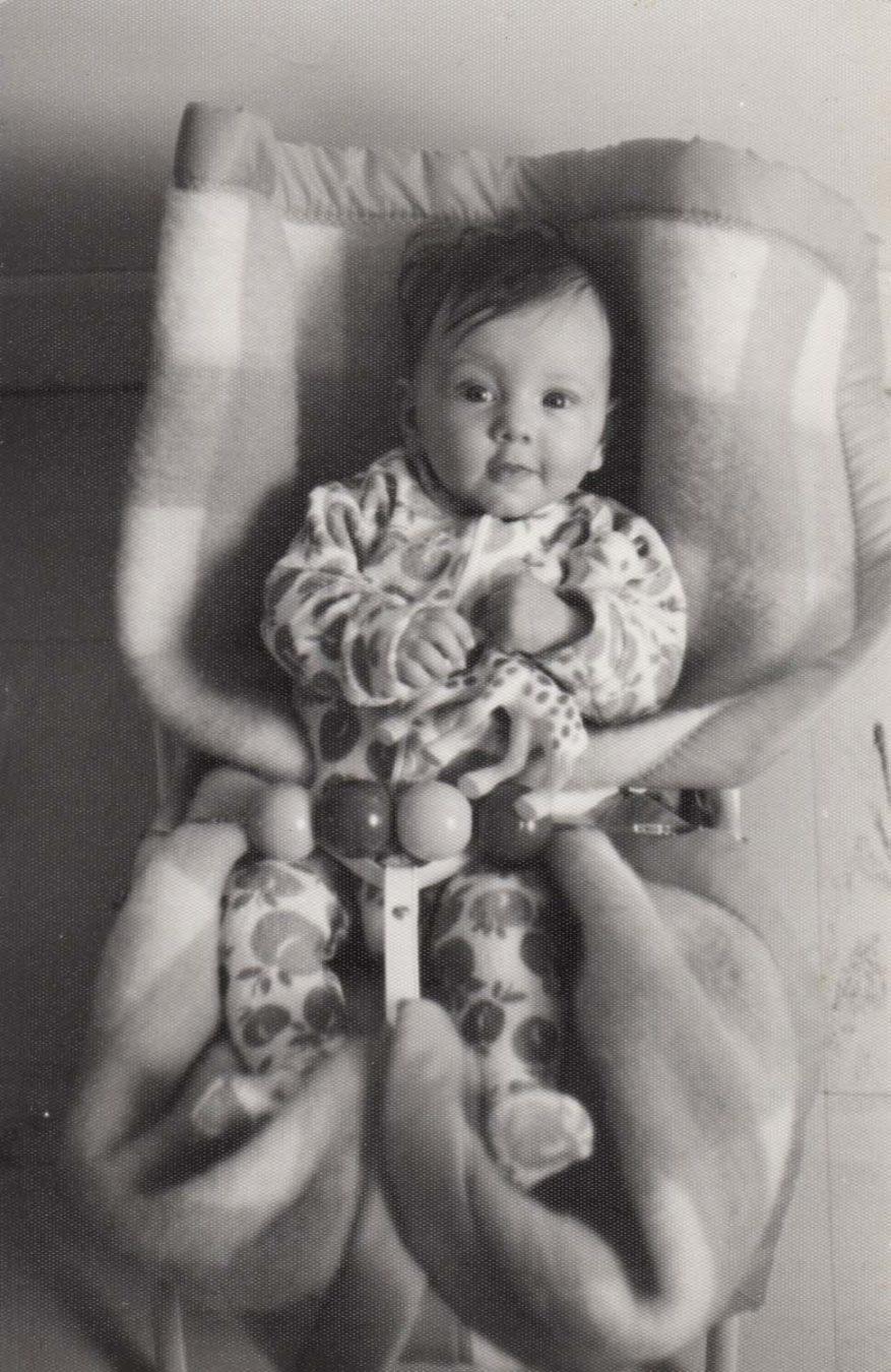 Moi bébé 1974 - Pascaline Michon - Photographe de famille - Laval