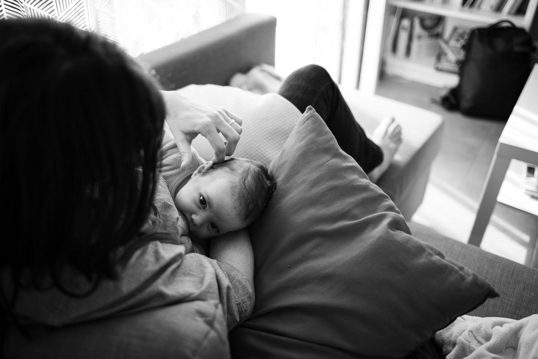 Reportage de naissance - Pascaline Michon - Photographe nouveau né - photogaphe bébé Evron et Mayenne